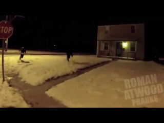 Drive by shooting prank in the hood
